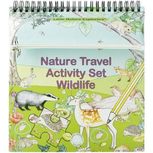Little Nature Explorers - Travel Activity Set Wildlife