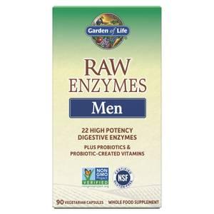 Raw Enzymes Men 90ct Capsules