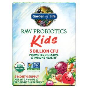 Organic Raw Probiotics Kids 5 Billions CFU