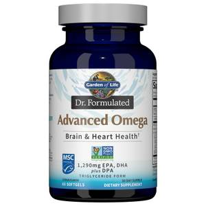 Dr. Formulated Advanced Omega 60ct Softgels