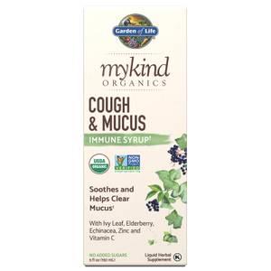 mykind Organics 咳嗽化痰免疫糖漿-150 毫升