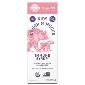 Sirop booster d'immunité favorisant le sommeil au sureau pour enfants mykind Organics 116ml