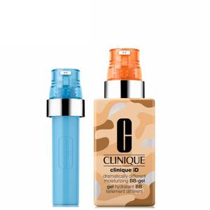 Clinique iD Dramatically Different Moisturising BB-Gel and Active Cartridge Concentrate for Uneven Skin Texture Bundle