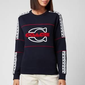 Coach Women's Athletic Sweatshirt - Navy