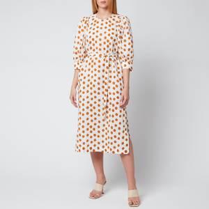 Baum Und Pferdgarten Women's Alya Dress - Cathay Spice Mega Dot