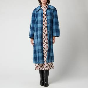 Baum Und Pferdgarten Women's Dezie Coat - Won Indigo