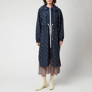 Baum Und Pferdgarten Women's Delianah Coat - Navy Blazer