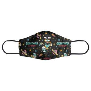 Looney Tunes Greetings Earthling Face Mask