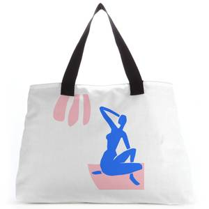 Silhouete Woman Tote Bag