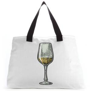 White Wine Tote Bag