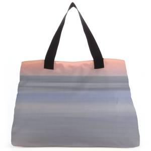 Sunset Orange Blue Tote Bag