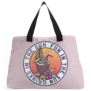 Fun In The Sun Drinks In The Sun Tote Bag
