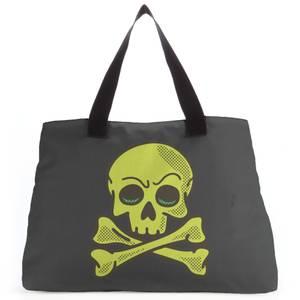 Skater Skull Tote Bag