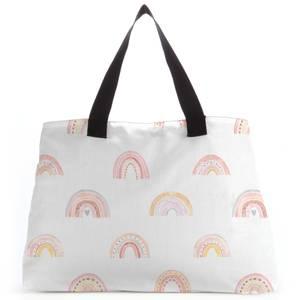 Rainbow Pattern Tote Bag