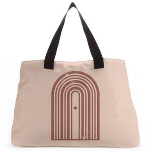 Distressed Rainbow Love Tote Bag