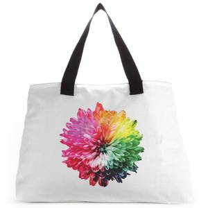 Fluro Flower Tote Bag