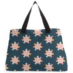 Sunny Dark Tote Bag