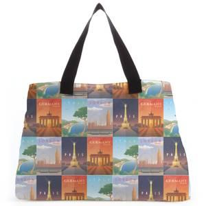 Travel Europe Tote Bag