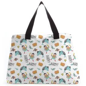 Ahoy There Mateys Tote Bag