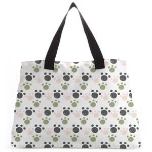 Paw Pattern Tote Bag