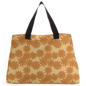 Fuzzy Flowers Tote Bag