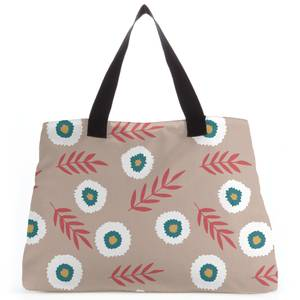 Fuzzy Flowers And Branches Tote Bag