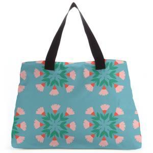 Circle Bunch Florals Tote Bag