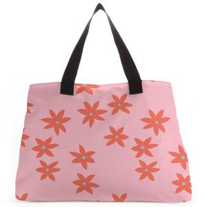 Scattered Star Flowers Tote Bag