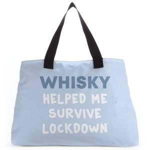 Whisky Helped Me Survive Lockdown Tote Bag
