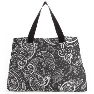 Inverted Paisley Tote Bag