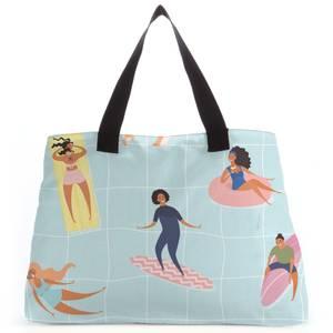 Pool Fun Tote Bag