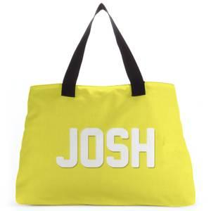 Embossed Josh Tote Bag
