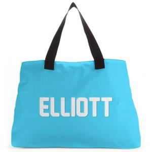 Embossed Elliott Tote Bag