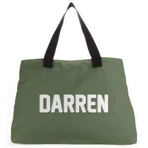 Embossed Darren Tote Bag
