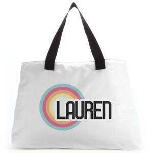 Lauren Rainbow Tote Bag