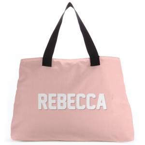 Embossed Rebecca Tote Bag
