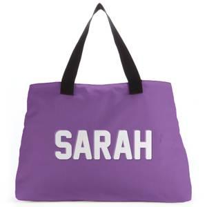 Embossed Sarah Tote Bag