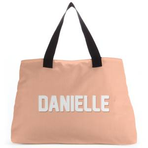 Embossed Danielle Tote Bag