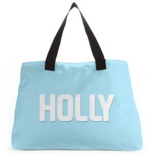 Embossed Holly Tote Bag