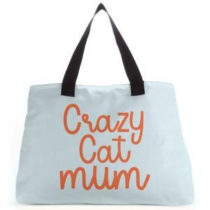 Crazy Cat Mum Tote Bag