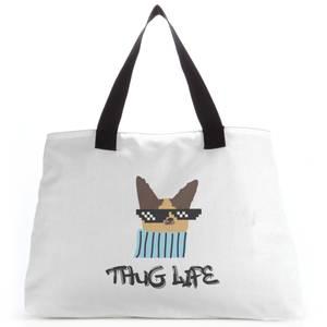 Thug Life Dog Tote Bag