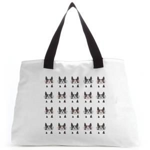 Pugs In Glasses Tote Bag