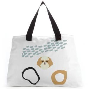 Abstract Dog Tote Bag