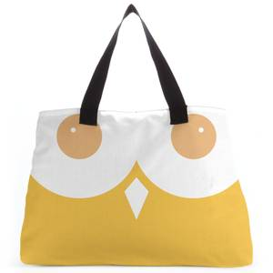 Yellow Owl Tote Bag
