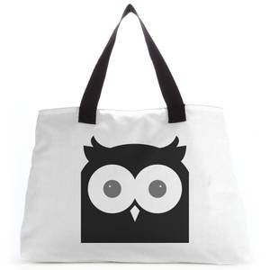 Black Owl Tote Bag
