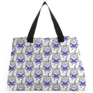 Happy Owl Tote Bag