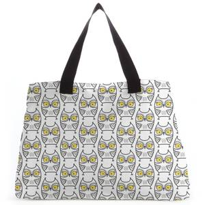 Shocked Owl Tote Bag