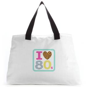I Heart The 80s Tote Bag