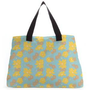 60s Floral Tote Bag