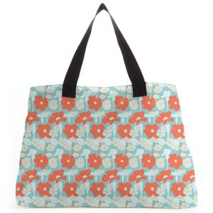 Bright 60s Flower Tote Bag